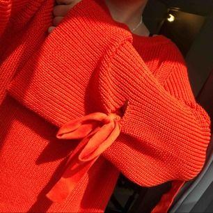 Jättefin stickad tröja som är jättefin som oversize tröja med❤️ Frakt tillkommer❤️