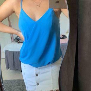 Väldigt fint blått linne!