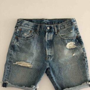 Levis jeansshorts för herr i str 30. Använts ett fåtal gånger. Hämtas i Malmö eller skickas om köparen står för frakt