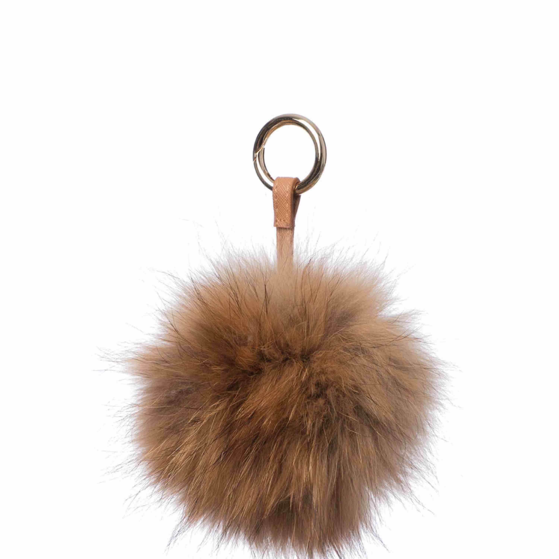 Jättefin nyckelring med äkta päls, min är mycket större och mer fluffig än den som är på bilden men det är samma färg! . Accessoarer.