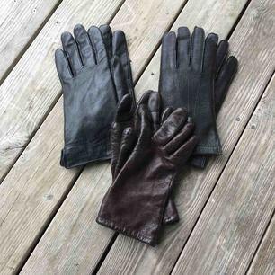 Finaste vintage handskarna i äkta skinn. 79 kr styck eller alla 3 för 200 kr. ✨
