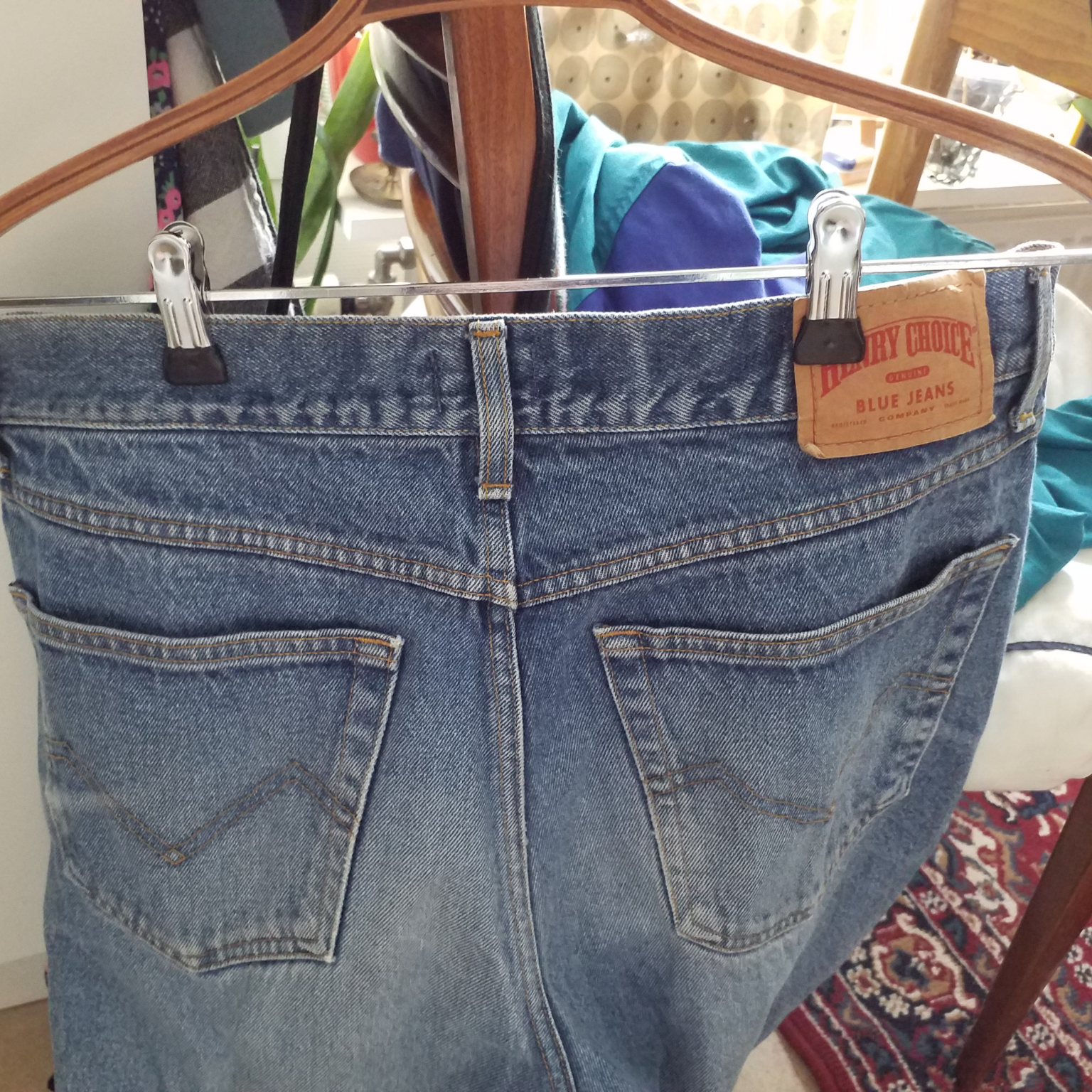 Vintagejeans i storlek w36 l32. Jeans & Byxor.