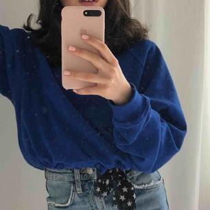 Super fin blå hoddie, använd få gånger ( skriv för bättre bilder