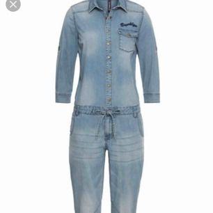 Jumpsuit jeans 👖 Använder engång