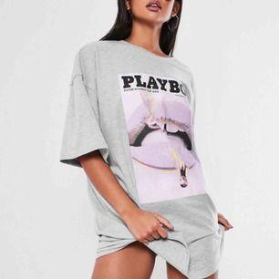 Sjukt snygg oversized t-shirt dress från Missguided, tyvärr för stor för mig därför säljes.