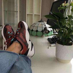 Är intresserad av att byta mina (slutsålda) NikeMK2 Tekno mot samma sko fast annan färg. Beroende på bud kan även säljas🌟🥰