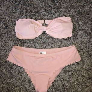 Ljus rosa bikini!  Nästan aldrig använd! Köparen står för frakten!
