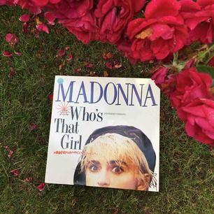"""Lp skiva av madonna """"whos that girl"""" från 1987"""