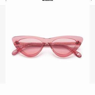 Snygga rosa chimieeyewear glasögon, använda en gång tyvärr har jag inget fodral till dom.