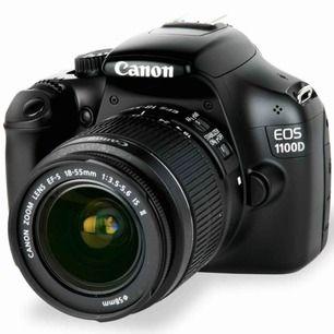 Canon EOS 1100D, bra skick. Kostade 4300. Om man vill ha mer bilder som jag tagit är det bara att säga till, köparen står för frakt