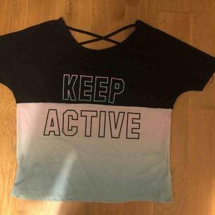 Keep avriven sport tröja väldigt skön och luftig