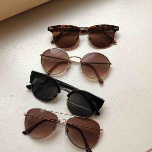 4 par olika solglasögon, bra skick 70kr st