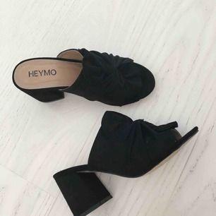 Oanvända skor