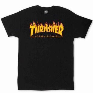 Säljer min äkta Trasher t-shirt pga att den inte kommer till användning! I princip nytt skick ☺️