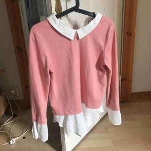 Bara använd en gång, fin rosa tröja med