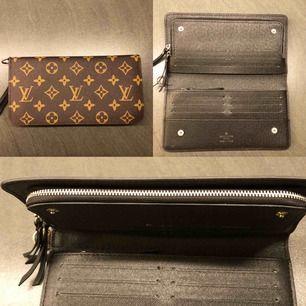 Läder plånbok