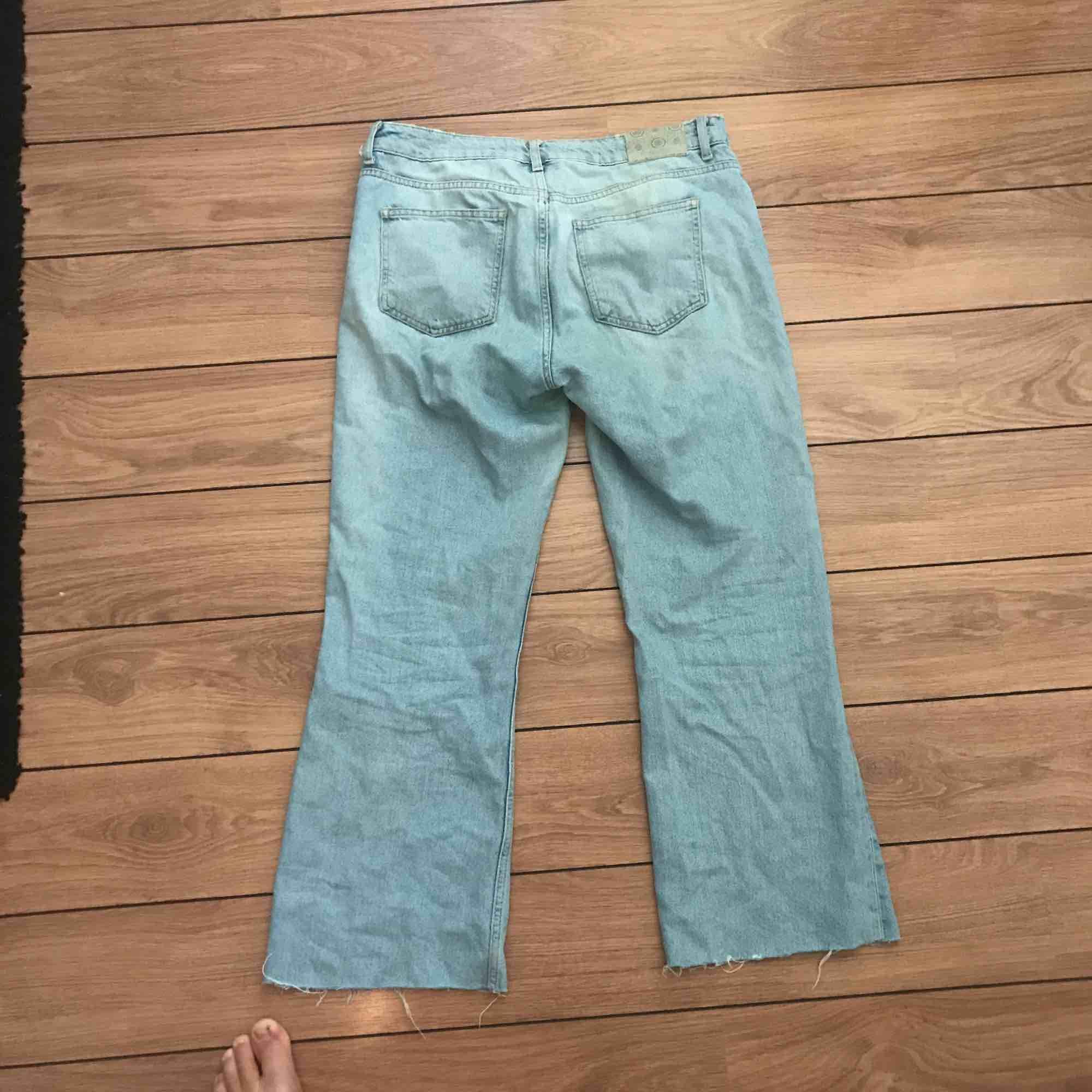 Ett par 70s denim jeans. I väldigt gott skick.. Jeans & Byxor.