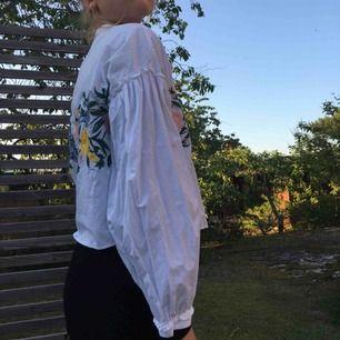 Kort skjorta från zara med brodering💞