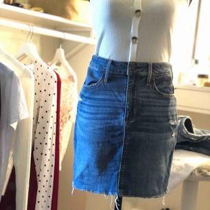 Fin jeanskjol ifrån hollister
