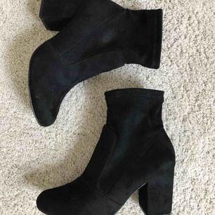 Jättefina skor med 8 cm klack, använda en gång!