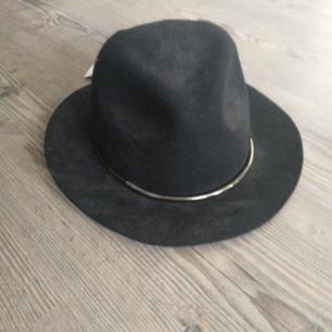 Hatt med silverdetalj fram. Helt oanvänd, med lapp kvar. Betalas med swish (+frakt)