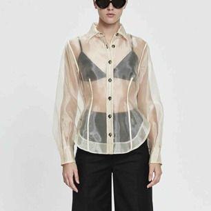 SÖKER!!!!!! Denna Ganni Flint skjorta i storlek 42 🤩🤩😭😭