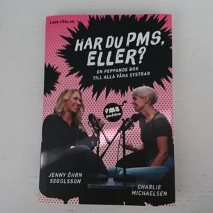 Har du pms eller? En peppande bok till alla våra systrar 🌸 Väldigt bra och rolig bok i fint skick!