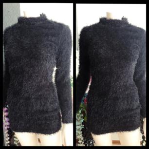 Oversize tröja # lång tröja # fluffy sweater #  Storlek S