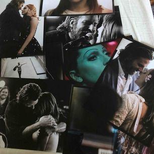 Jättefina bilder från filmen a star is born! Fick med dem när jag köpte LP skivan men har ingen användning för bilderna!