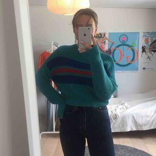 Supermysig stickad tröja från Pull & Bear. Köpare står för frakt annars går det bra att mötas upp i Lund!