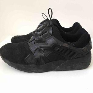 Puma Disc, svarta sneakers storlek 39