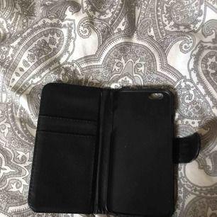 Svart plånboksskal