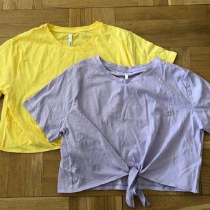Två knut-tshirts. Felfria. Frakt +36kr 💘