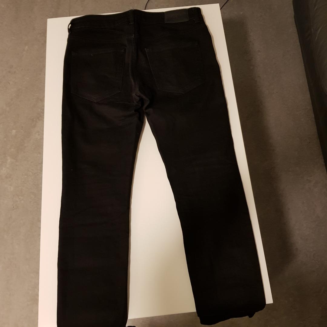 Väldigt lite använda jeans jätte fräsha storlek 31/32. Jeans & Byxor.