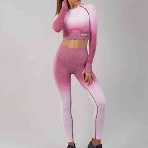 Jättefina slutsålda leggings från Gymshark! Säljer pga för stora. Passar S/liten M