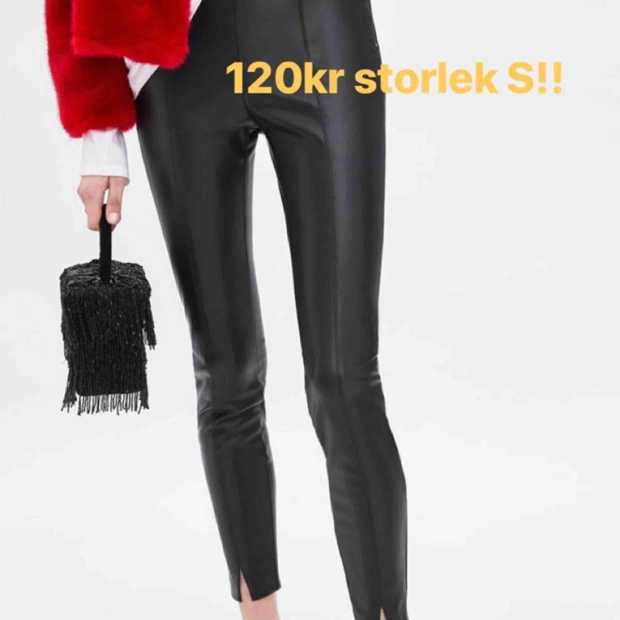 Skinnbyxor från zara storlek S. Jeans & Byxor.
