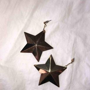 Stjärnörhängen i guld från Lindex