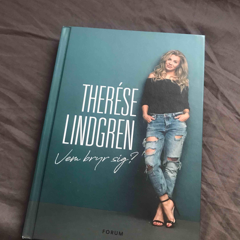 Säljer Therése Lindgrens bok då jag inte har användning för den längre! Som ny🌼. Övrigt.