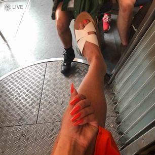 Sandaler från Bershka. Använda en gång! Nyskick.