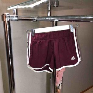 Adidas shorts i rödvin/lila. Aldrig använda.