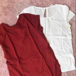 Paket med två tshirts i blustyg från Veromoda och Lager157 (50kr för båda, säljs endast ihop)