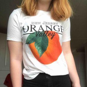 Populär T-shirt från Gina Tricot. Använd max 5 gånger, köparen betalar frakt.