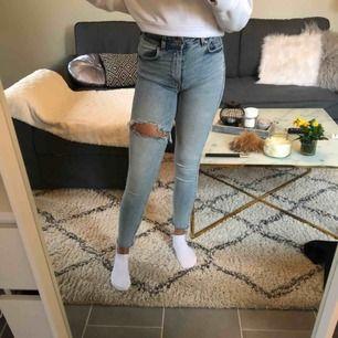 Blå väldigt fina jeans Använda ett fåtal gånger