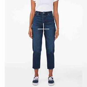 mom-jeans från monki, bara använt en gång pga för små för mig