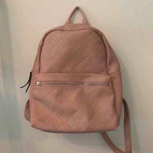 Rosa läder väska 💕
