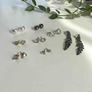 Jättefina små örhängen som inte kommer till användning💛 paketpris om du köper flera! Frakt tillkommer.