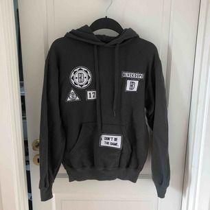 Mörkgrå tröja från Blvck Dope i storlek S. Frakt tillkommer.