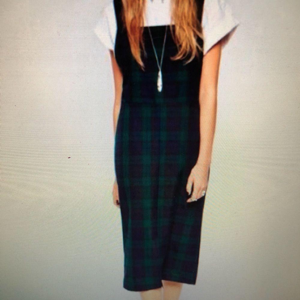 Rutig klänning från asos reclaimed vintage. Nyskick. Klänningar.