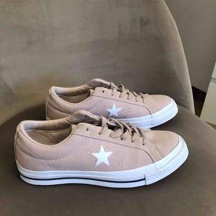 One Star Ox converse, köpta för ca fyra månader sen, men har nästan aldrig använt dem. Köparen står för frakten!
