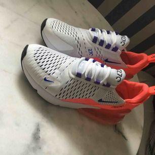 Nike 270, använt 1 gång. Passar även om man har storlek 37-38.  Pris + frakt